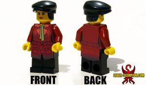 Custom LEGO Minifigure: Post-Nuclear Fallout Reporter