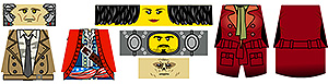 Custom LEGO Minifig Decals: Post-Nuclear Fallout Companions 4