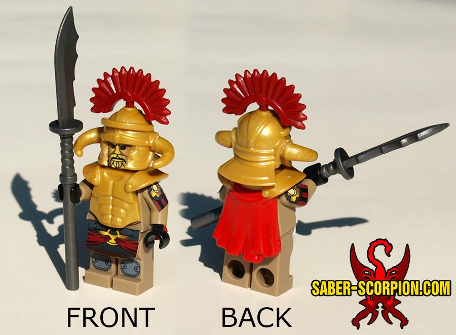 Custom LEGO Minifigure: Post-Nuclear Fallout Legate