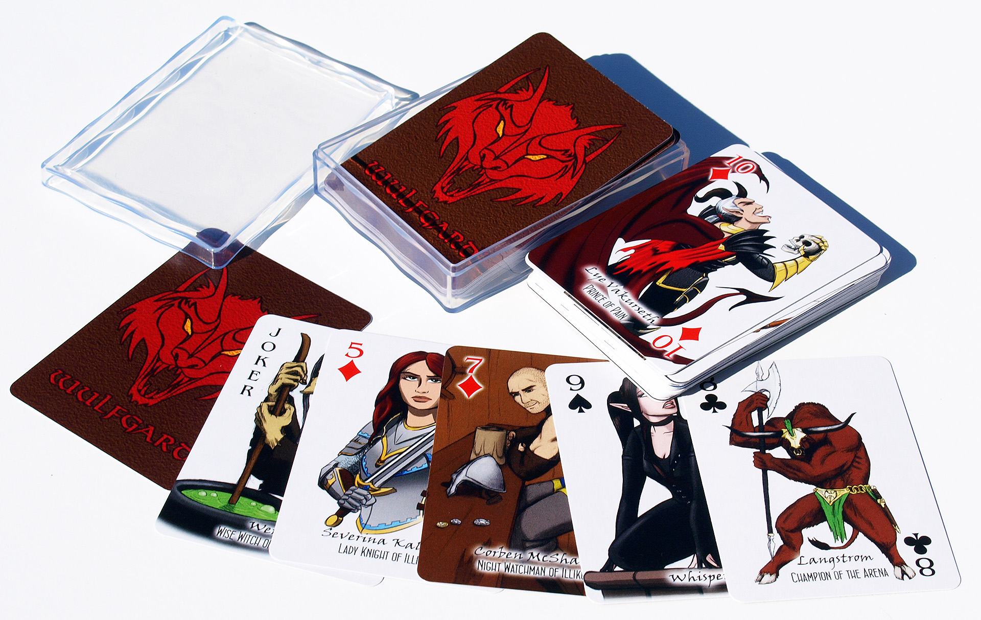 Wulfgard Playing Card Deck
