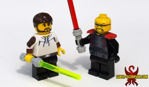 Space Wars Custom LEGO Minifigures: Star Knights