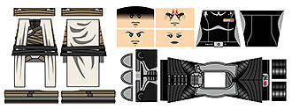 Space Wars Darkness Unleashed Minifigure Decals