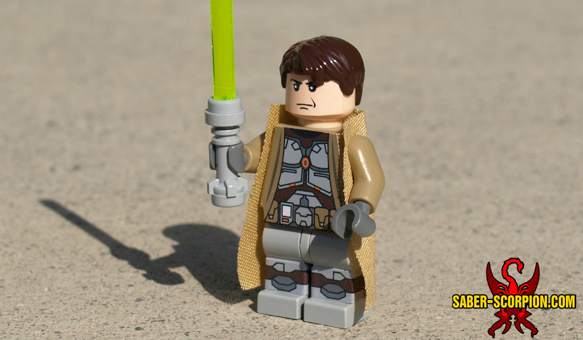 Space Wars Custom LEGO Minifigure: Star Knight