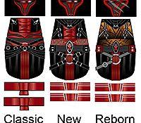 Space Wars Reborn Dark Star Lords Minifigure Decals