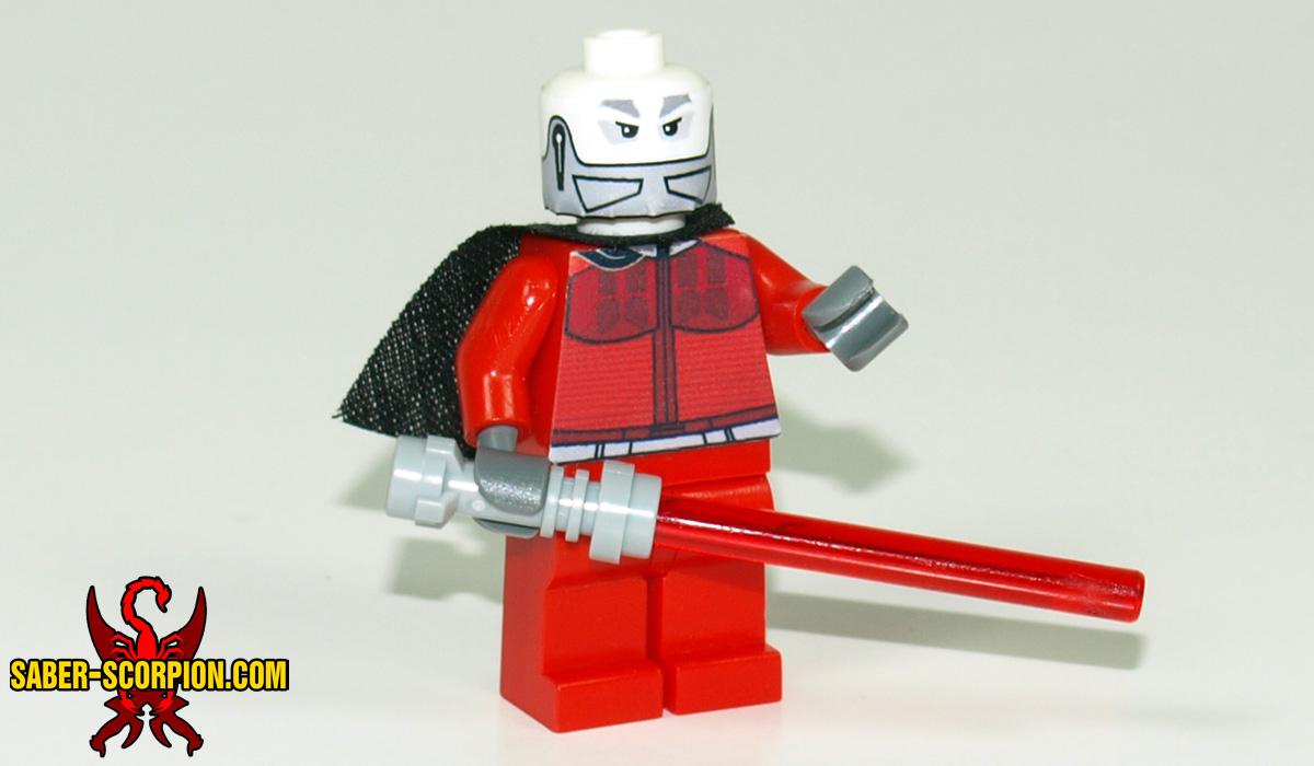 Space Wars Custom LEGO Minifigure: Dark Star Lord