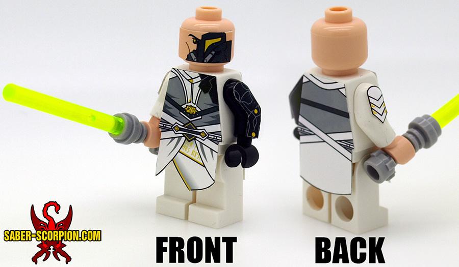 Space Wars Custom LEGO Minifigure: Star Knight