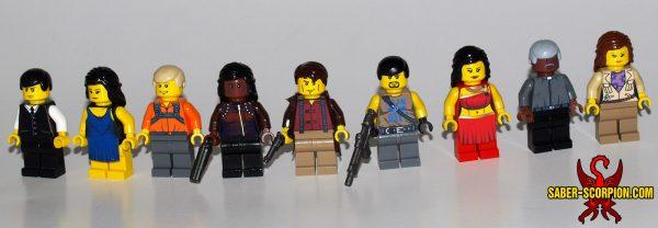 Custom LEGO Minifigures: Space Cowboys