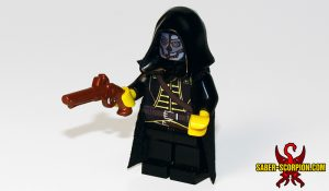 Custom LEGO Minifigure: Steampunk Assassin
