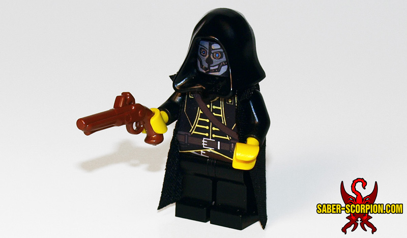 Custom LEGO Minifigure: Steampunk Assassin