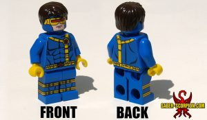 Custom LEGO Minifigure: Superhero Mutant