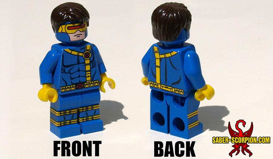 Custom LEGO Minifigure: Superhero Mutant