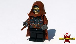 Custom LEGO Minifigure: Supervillain of Fear