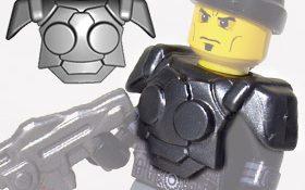 BrickWarriors Resistance Trooper Armor