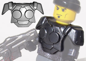 BrickWarriors Resistance Trooper Armor