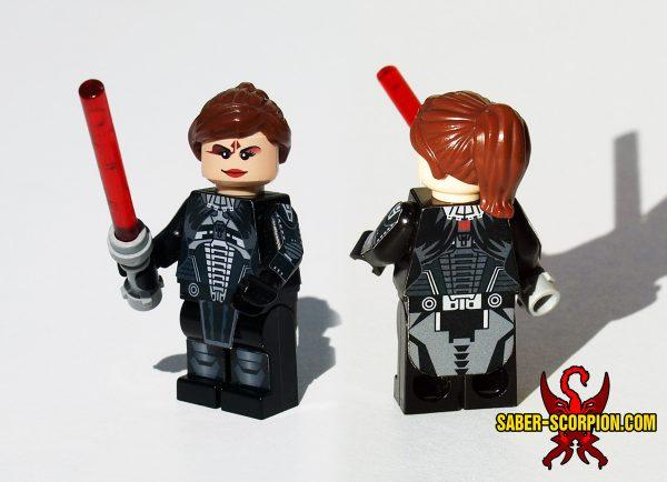 Space Wars Custom LEGO Minifigure: Dark Star Lord