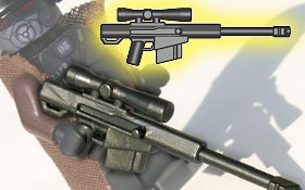 Brickarms HCSR High Caliber Sniper Rifle