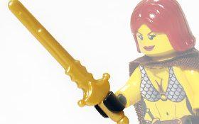 BrickForge Military Sword