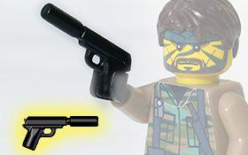 Brickarms Silenced Spy Pistol