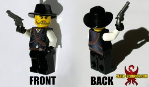 Custom LEGO Minifigure: Wild West Gunslinger