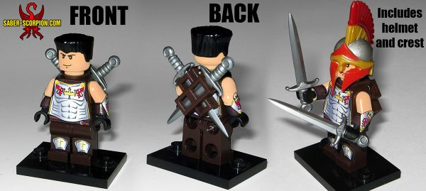 Custom LEGO Minifigure: Sir Tom Drake of Wulfgard