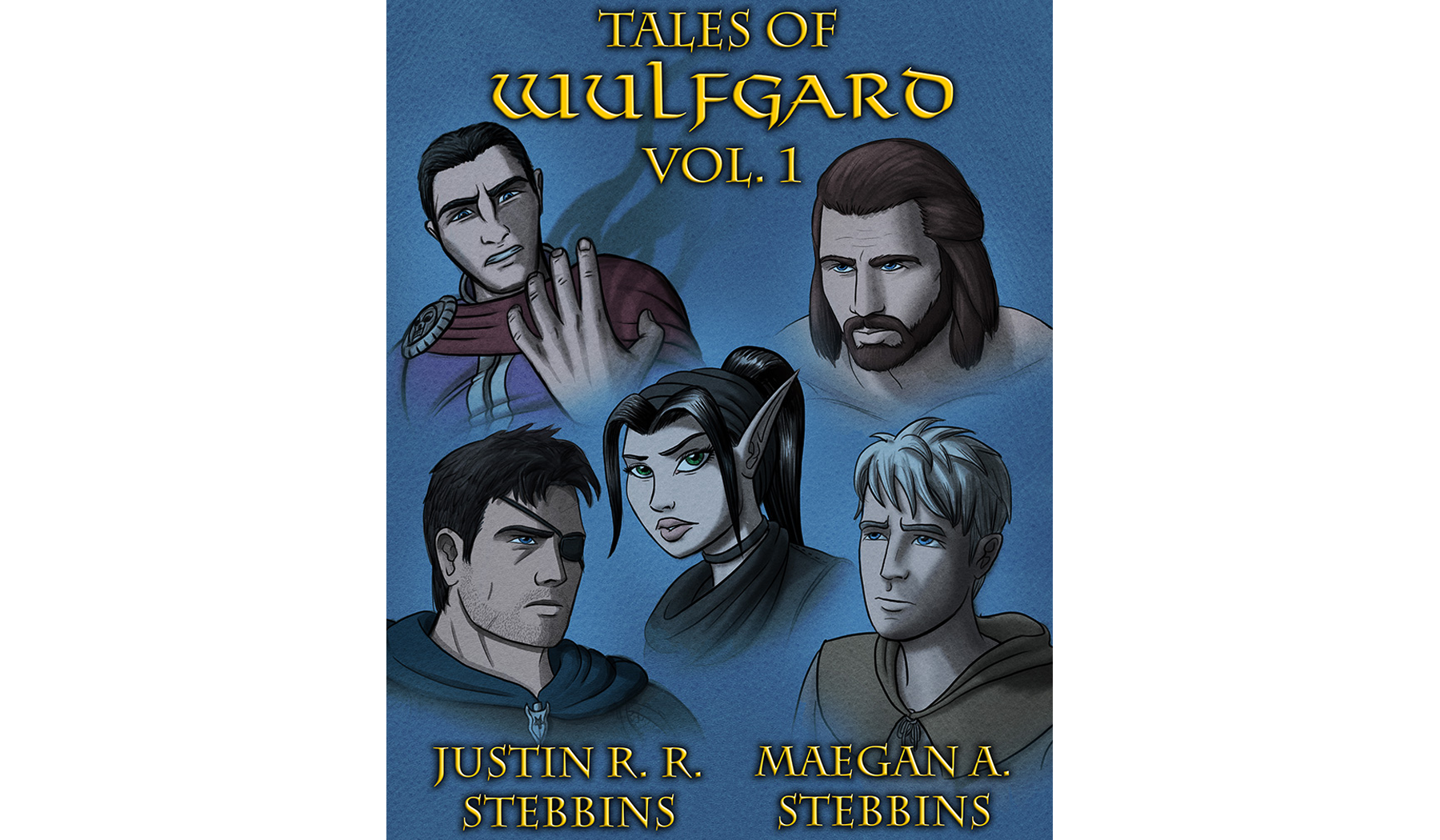 Tales of Wulfgard, Volume 1 Cover