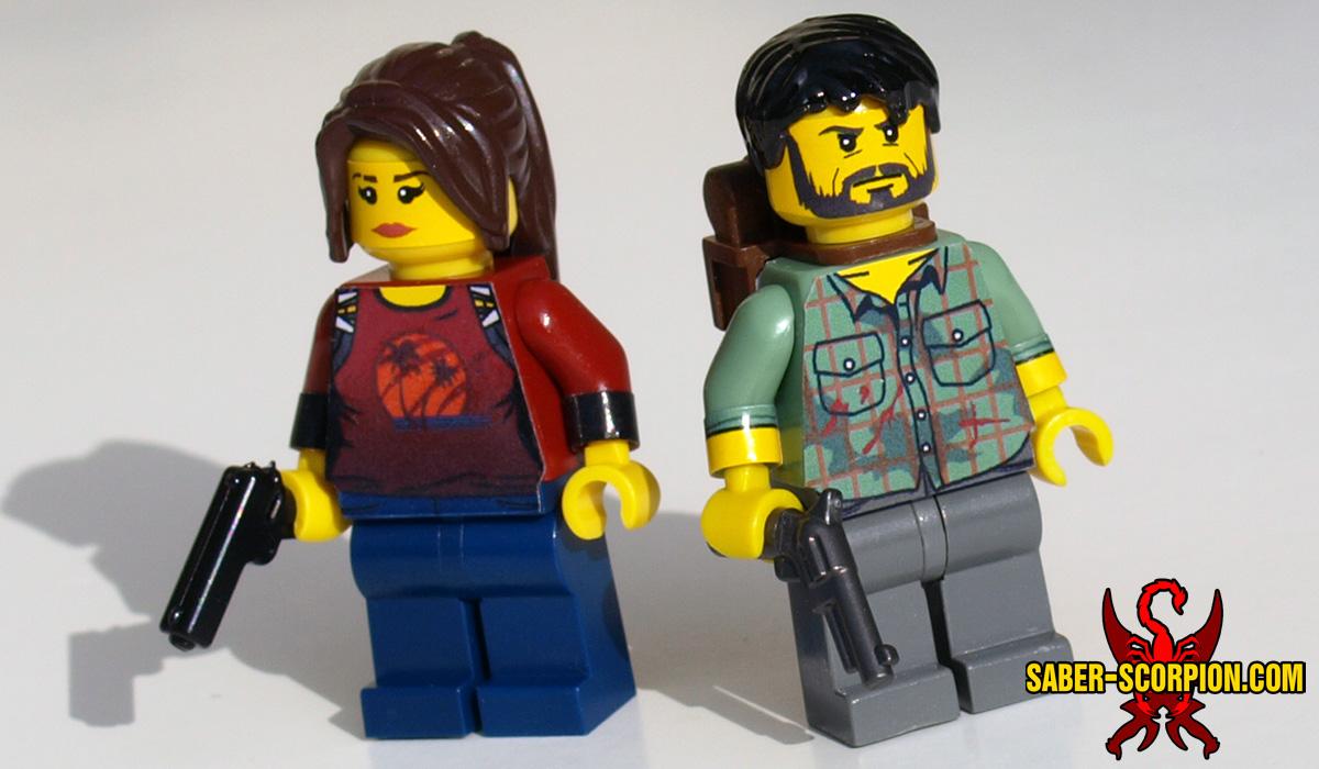 Custom LEGO Minifigures: Zombie Survivors