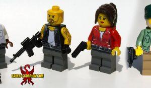 Custom LEGO Minifigs: Zombie Survivors