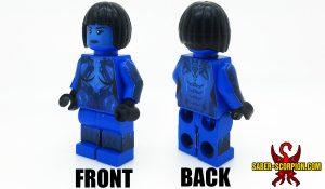 Custom LEGO Minifigure: Sci-Fi Hologram AI