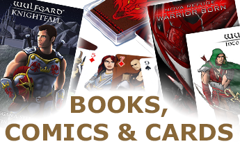 Books, Comics, and Cards