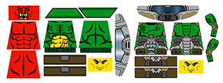 Sci-Fi Hellrazer of Doom Marine Slayer Decals