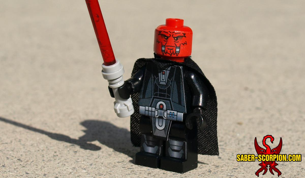 Space Wars Dark Pureblood Custom LEGO Minifigure