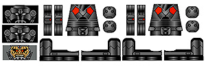 Stickers: Dark Legacy Soldiers
