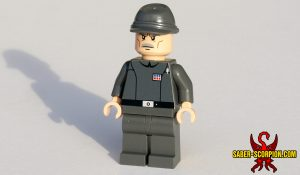 Space Wars Imperial Star Officer Custom LEGO Minifigure