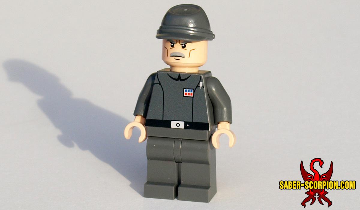 Minifig Space Wars Custom Officer Saber Scorpions Lair Custom