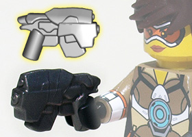 BrickWarriors Headhunter Pistol