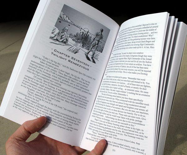Nova Refuge: Warrior Born Paperback Interior