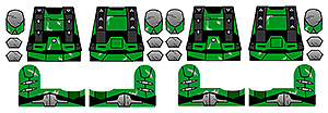 Alien Invasion Series 0 Prototype Armor Decals