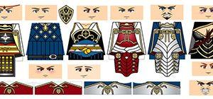 Anime Samurai Decal Pack