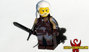 Fantasy Witcher Monster Hunter Series 3 Ursine Armor