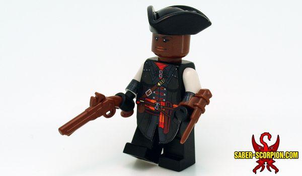 Custom LEGO Minifigure: Assassin Liberator