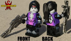 Custom LEGO Minifigure: Watcher Sniper Assassin