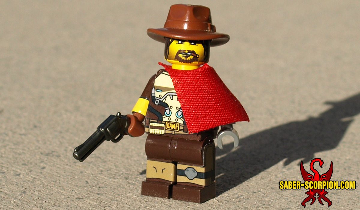 Custom LEGO Minifigure: Watcher Gunfighter