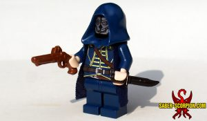 Dishonored Steampunk Assassin LEGO Minifigure