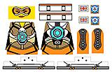 Custom LEGO Minifig Decals: Watcher Racer