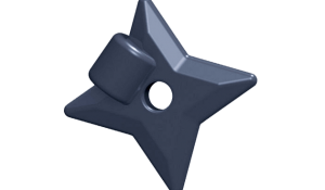 BrickForge Throwing Star Shuriken