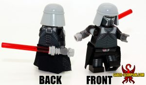 Space Wars Dark Force Unleashed Minifigure