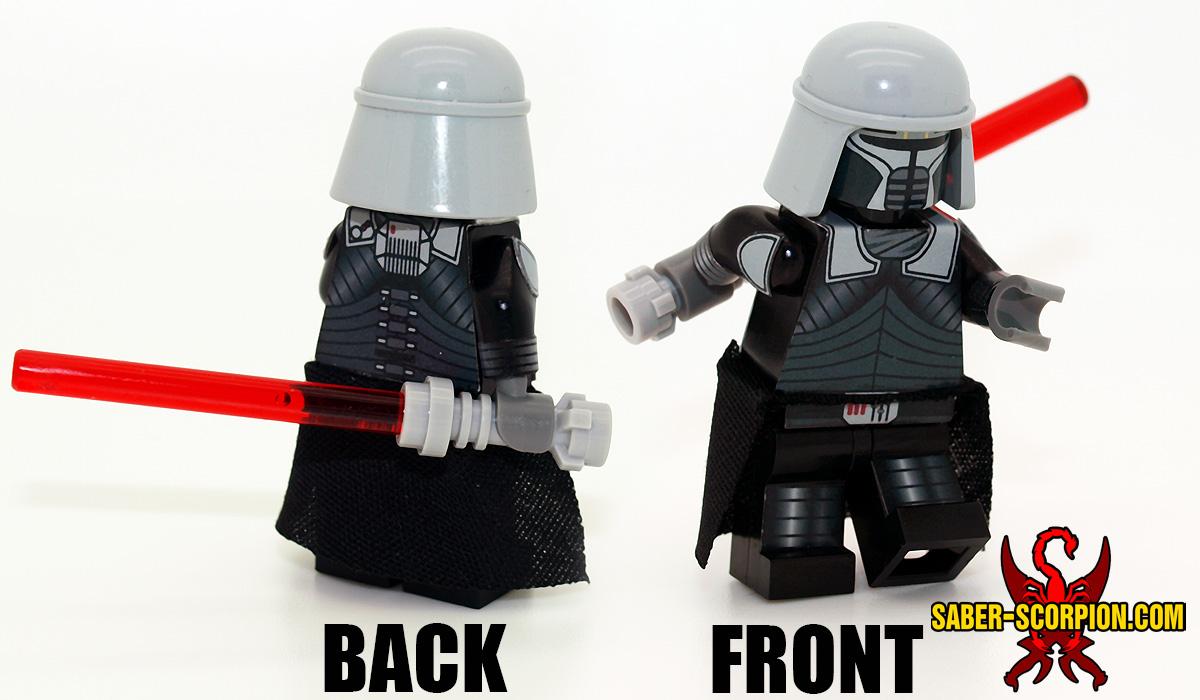 Space Wars Dark Force Unleashed Minifigure
