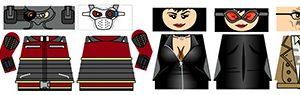 Superhero LEGO Minifigure Stickers