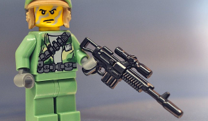 Brickarms A295 Blaster Rifle