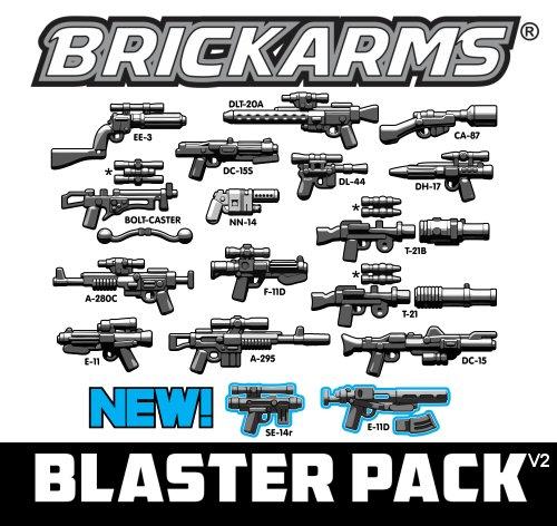 Brickarms Blast Weapons Pack v2